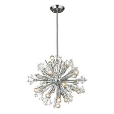 Starburst 15 Light Chandelier