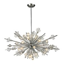 <strong>Elk Lighting</strong> Starburst 24 Light Chandelier