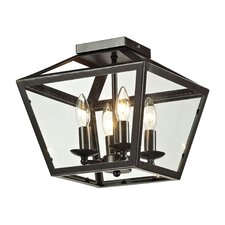 Alanna 2 Light Flush Mount