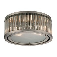 <strong>Elk Lighting</strong> Linden 2 Light Flush Mount