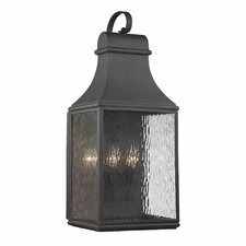 <strong>Elk Lighting</strong> Forged Jefferson 3 Light Outdoor Wall Sconce