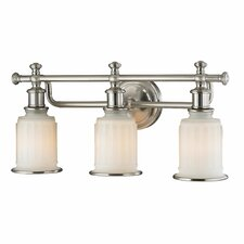 Acadia 3 Light Bath Vanity Light