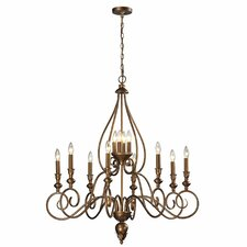 <strong>Elk Lighting</strong> Hamilton 12 Light Candle Chandelier