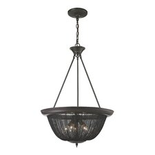 Pesaro 5 Light Bowl Pendant