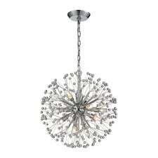 Starburst 9 Light Mini Chandelier