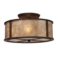 Barringer 3 Light Semi Flush
