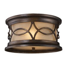 Burlington Gate 2 Light Outdoor Flush Mount