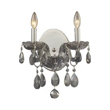 <strong>Elk Lighting</strong> Angelique 2 Light Wall Sconce