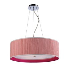 Le Triumph 5 Light Drum Pendant