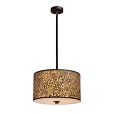 <strong>Elk Lighting</strong> Confetti 3 Light Drum Pendant