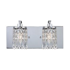 Optix 2 Light Bathroom Vanity Light