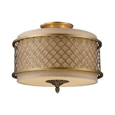 <strong>Elk Lighting</strong> Chester 3 Light Semi Flush Mount