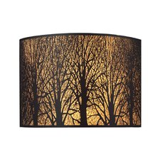 Woodland Sunrise 2 Light Wall Sconce