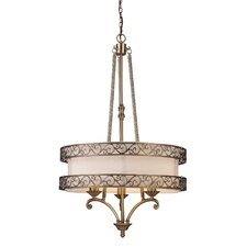 Abington 3 Light Drum Pendant
