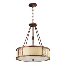 Freeport 4 Light Drum Pendant