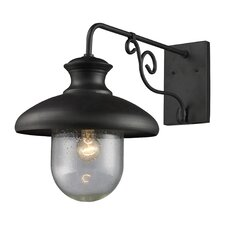 Streetside Cafe 1 Light Outdoor Wall Lantern