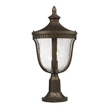 "<strong>Elk Lighting</strong> Freeport 1 Light 23"" Outdoor Post Lantern"