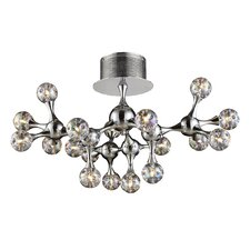 Molecular Collection 18 Light Semi Flush