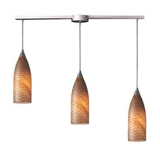 Cilindro 3 Light Linear Pendant