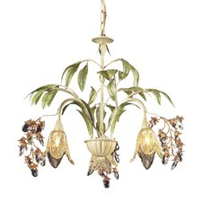Huarco 3 Light Mini Chandelier