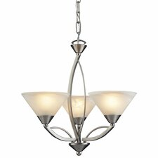 <strong>Elk Lighting</strong> Elysburg Mini 3 Light Chandelier