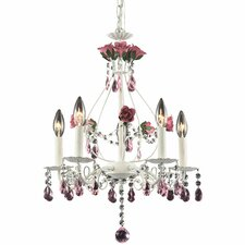 Mary-Kate and Ashley Rosavita Candle 5 Light Chandelier