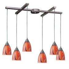 Arco Baleno 6 Light Pendant