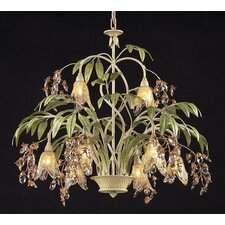 Huarco 8 Light Chandelier