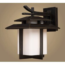 <strong>Elk Lighting</strong> Kanso 1 Light Outdoor Wall Lantern