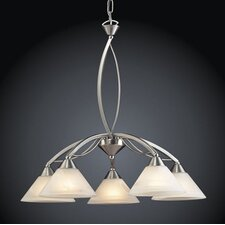 <strong>Elk Lighting</strong> Elysburg 5 Light Chandelier