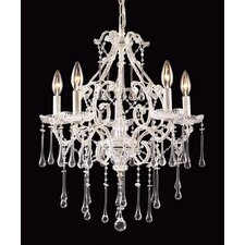 <strong>Elk Lighting</strong> Opulence Candle 5 Light Chandelier