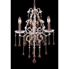 <strong>Elk Lighting</strong> Opulence 3 Light Mini Candle Chandelier