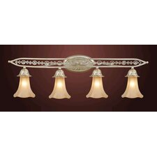 Trump Home Central Park Chelsea 4 Light Vanity Light