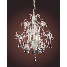 <strong>Elk Lighting</strong> Minique 3 Light Mini Chandelier