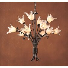 Fioritura 12 Light Chandelier
