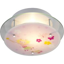 Novelty Fairy Theme Semi Flush Mount