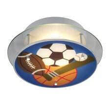 Novelty Sports Theme Semi Flush Mount