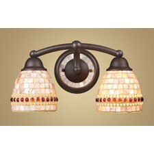 Roxana 2 Light Vanity Light