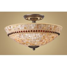 Roxana Semi Flush Mount