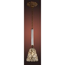 Segovia 1 Light Pendant
