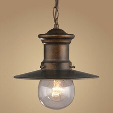 Maritime 1 Light Outdoor Hanging Lantern