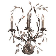 <strong>Elk Lighting</strong> Circeo 3 Light Candle Wall Sconce