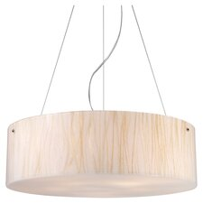 Modern Organics 5 Light Drum Pendant