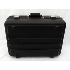 Heavy-Duty Polyethylene Case in Black: 12.5 x 18.5 x 7