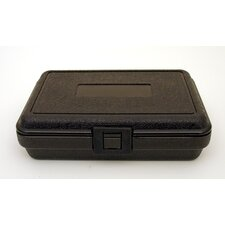 Blow Molded Case in Black: 6.5 x 9.5 x 2.5