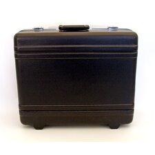 Heavy-Duty Polyethylene Case with Parallel Rib Pattern without Foam in Black: 15.75 x 19.75 x 7.5