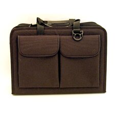 "Nylon Zipper Tool Case in Black - 4"" Pallets: 7 x 18.25 x 13.25"