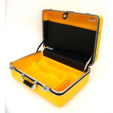 "19"" Deluxe Polyethylene Tool Case with Chrome Hardware: 14.25 x 19 x 9.13"