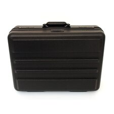 Premium Polyethylene Tool Case with Recessed Hardware in Black: 13 x 18 x 6