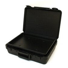 Blow Molded Case in Black: 8 x 21 x 2.5